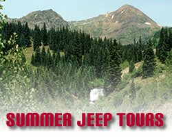 Summer Jeep Tours Crested Butte Gunnison Colorado