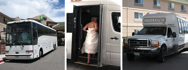 Alpine Express Wedding Transportation
